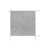Płyta betonowa ścienna, lekka Grubość 18 mm